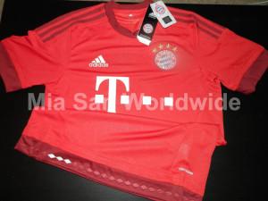 Bayern Munich 2016 maillot domicile foot 15-16