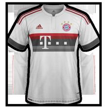 Bayern Munich 2016 maillot exterieur 2015 2016