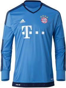 Bayern Munich 2016 maillot gardien bleu 2015-2016