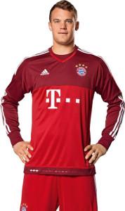 Bayern Munich 2016 maillot gardien rouge 2015-2016