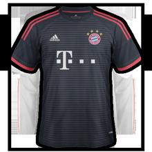 Bayern Munich 2016 troisieme maillot third