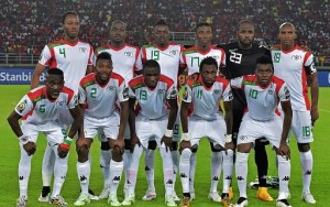 Burkina Faso 2015 maillot domicile CAN 2015