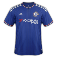 Chelsea 2016 maillot foot domicile