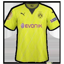 Dortmund 2016 maillot Europa League  15-16