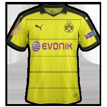 Dortmund 2016 maillot foot domicile 15-16