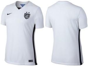 Etats-Unis 2015 maillot domicile foot USA