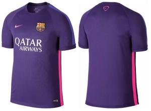 FC Barcelone 2015 maillot entrainement violet