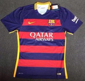 FC Barcelone 2016 maillot de foot domicile 2015 2016