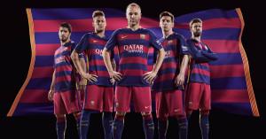 FC Barcelone 2016 maillot domicile 15-16