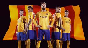FC Barcelone 2016 maillot exterieur 15-16 officiel