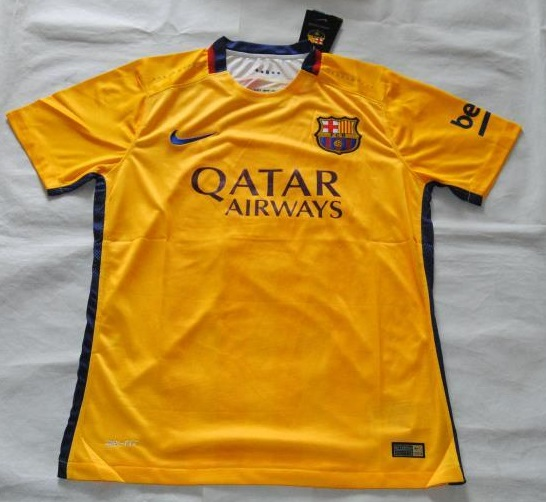 Fc barcelone maillot football maillots foot actu for Fc barcelone maillot exterieur