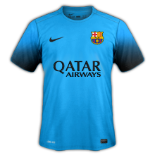 FC Barcelone 2016 maillot third 15-16