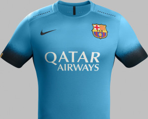 FC Barcelone 2016 troisieme maillot third 2015 2016