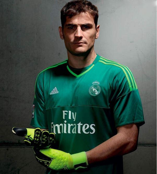 Real Madrid 2016 maillot de gardien vert 2015 2016