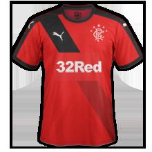Glasgow Rangers 2016 maillot exterieur 15-16