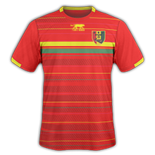 Guinee 2015 maillot domicile CAN 2015