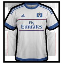 Hambourg 2016 15-16 maillot domicile