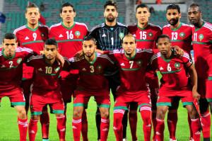 Maroc 2015 maillot domicile football