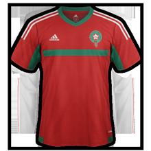 Maroc 2015 maillot domicile