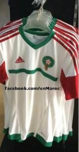 Maroc 2015 maillot exterieur football