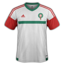 Maroc 2015 maillot exterieur
