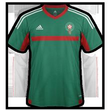 Maroc 2015 troisieme maillot third