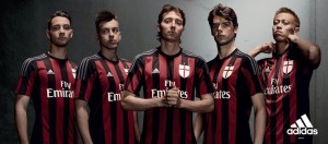 Milan 2015 2016 maillot domicile officiel