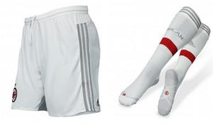 Milan AC 2015 short foot chaussettes exterieur 2015 2016