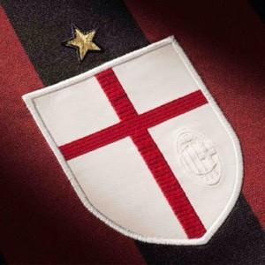 Milan AC 2016 blason maillot domicile