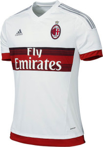 Milan AC 2016 maillot exterieur officiel 15-16