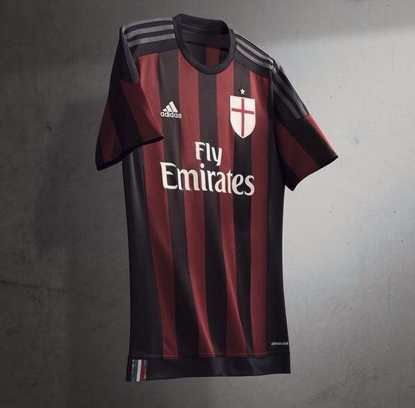Maillot Domicile AC Milan de foot