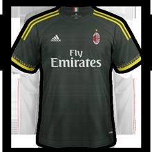 Milan AC 2016 maillot third 15-16