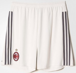 Milan AC 2016 short de football domicile 15-16