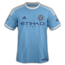 New York City FC 2015 maillot domicile