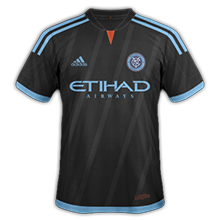 New York City FC 2015 maillot football exterieur