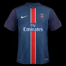 PSG 2016 maillot domicile foot Paris 15-16