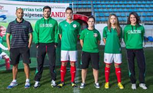 Pays Basque 2015 maillot de foot domicile
