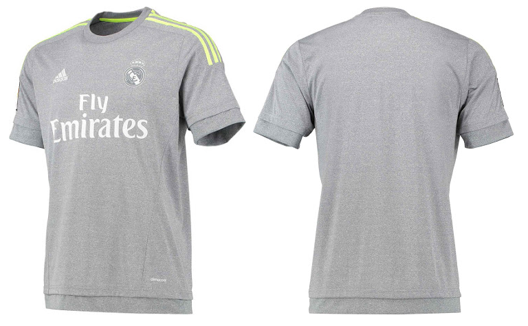 Real Madrid 2016 maillot exterieur officiel 15-16