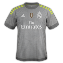 Real Madrid 2016 maillot exterieur 2015 2016