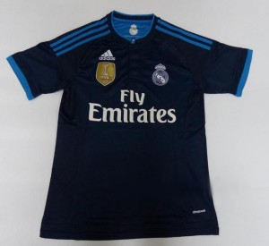 Real Madrid 2016 maillot third 2015-2016