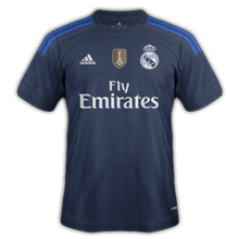 Real Madrid 2016 troisieme maillot third foot 2015 2016