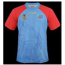 Republiqe Democratique Congo 2015 maillot domicile CAN