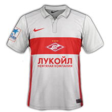 Spartak Moscou 2016 maillot exterieur 15-16