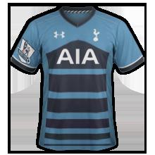 Tottenham 2015 2016 maillot exterieur 15-16