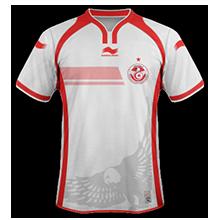 Tunisie 2015 maillot domicile Burrda