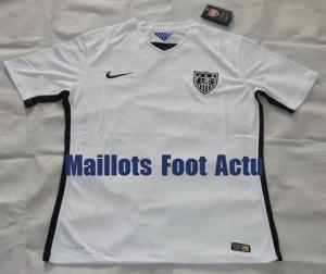 USA 2015 maillot foot domicile Etats-Unis 2015