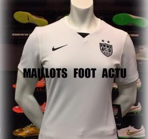 USA 2015 maillot foot domicile Etats-Unis Nike