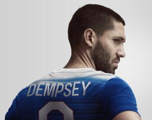 USA 2015 maillot foot exterieur Etats-Unis 2015 Dempsey