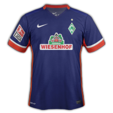 Werder Breme 2016 maillot exterieur 2015 2016