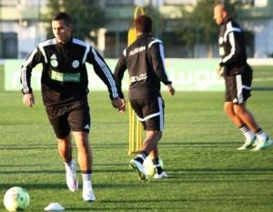 Algerie 2015 tenue foot entrainement Adidas noire